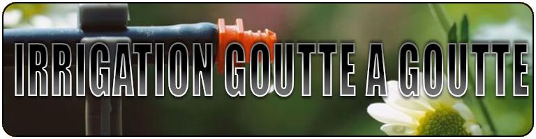 irrigation goutte a goutte